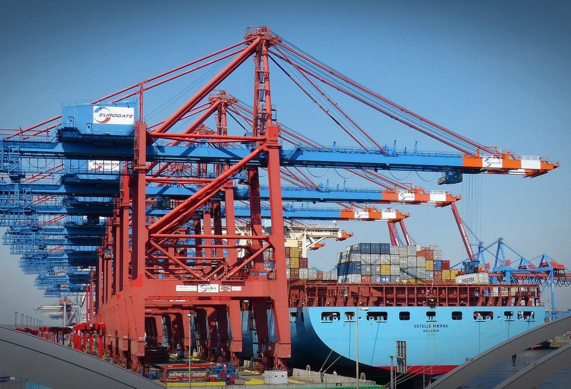 Container Gantry Crane 1367604 1920